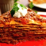 Layered Ground Meat Pie - Kayseri Yaglamasi (Sebit)