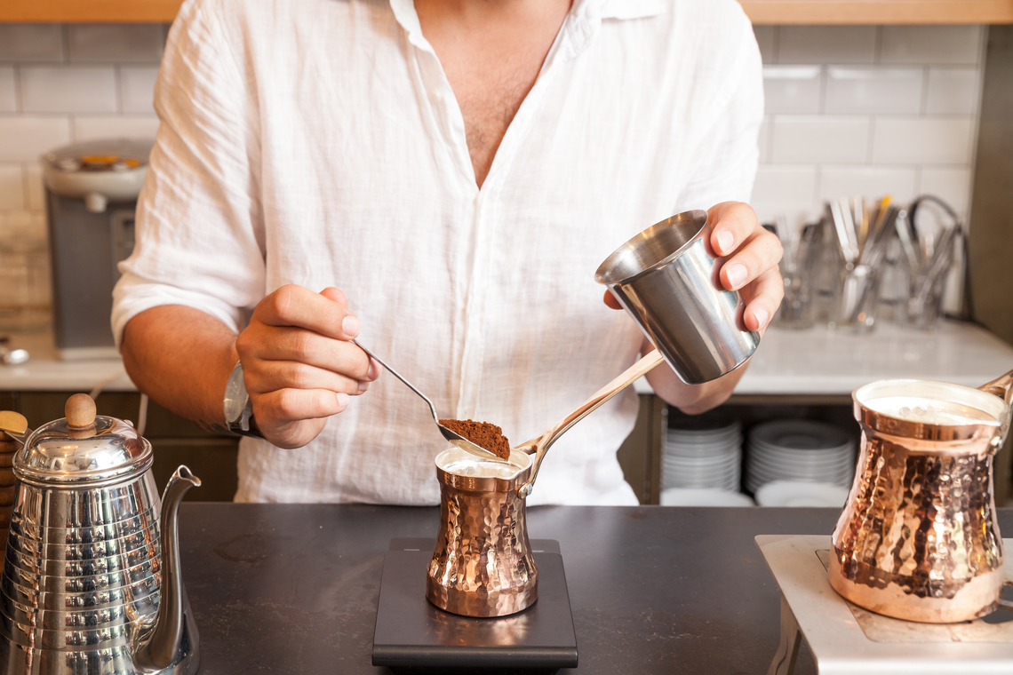【飲品】如何煮一杯香醇濃郁的土耳其咖啡