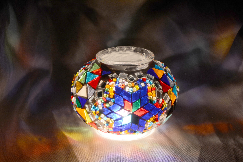 Size 1 Mosaic Lamp