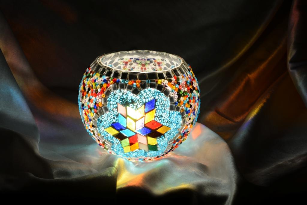 Mosaic lamp gif