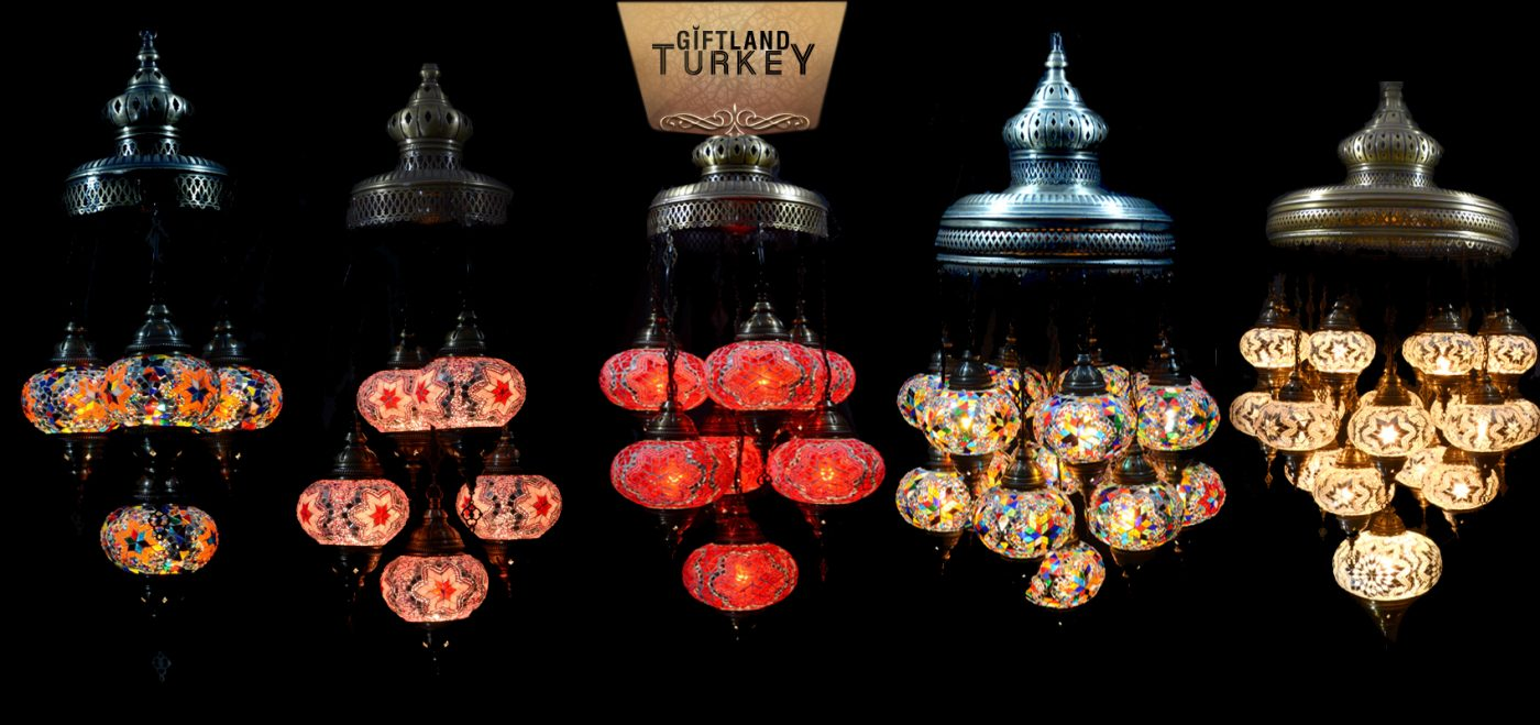 Mosaic Lamps Sets