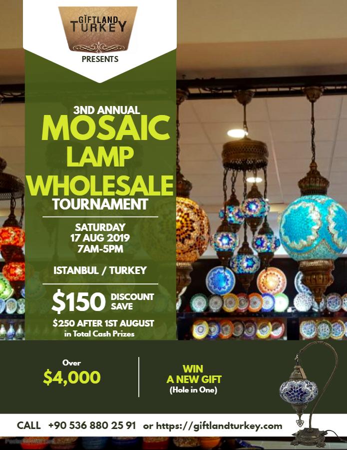 MOSAIC LAMP WHOLESALE TOURNAMENT