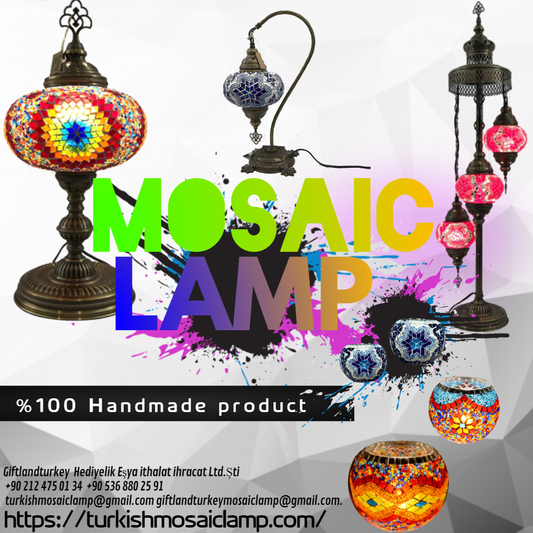 Turkish mosaic lamps price
