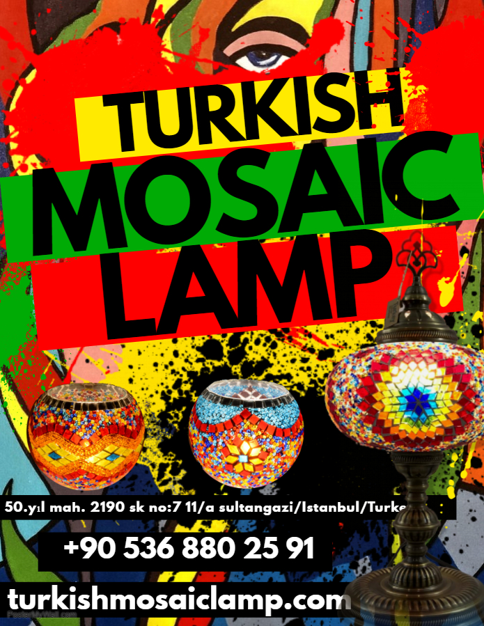 Mosaic lights from Turkey
