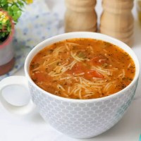 Vermicelli Soup With Ground Beef Recipe