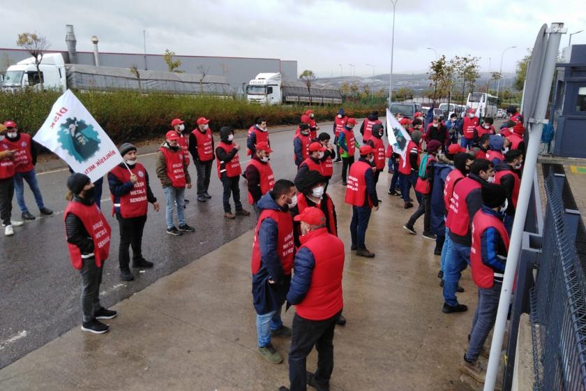 Birleşik Metal-İş üyesi iki işçi Dilovası Systemair HSK Fabrikası'nda vuruldu