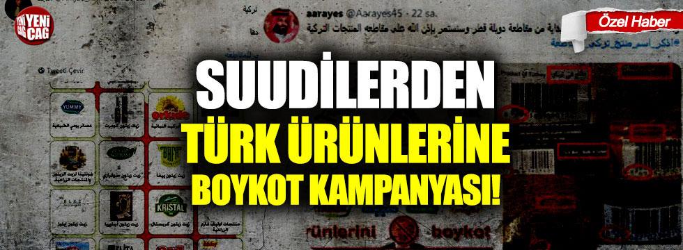 Türkiye Cumhurbaşkanı Recep Erdoğan'ın politikalarına ve bölge ülkelerinin içişlerine müdahalesine tepki olarak sosyal medyada Türk ürünlerini boykot çağrıları devam etti.Suudi Arabistan'da ürünlerini satın almayı durdurmayı amaçlayan popüler boykot kampanyalarında çok sayıda Türk şirketinin kendilerine verilen ağır hasarı kabul ettiği bir dönemde yüzlerce Arap aktivist sosyal medyada # Boycott_Products_Turkish hashtag'iyle etkileşime girdi ve ilgili taraflar onları kurtarmak için bir çözüm için yalvardı.
