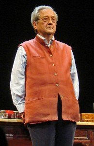 Jacques Vergès in Paris, in 2008