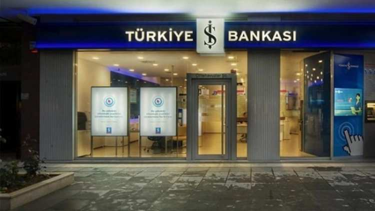 One of the Turkish Ish Bank branches