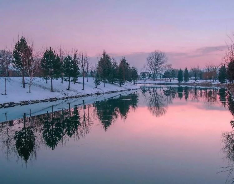 اسكي شهير الشتاء