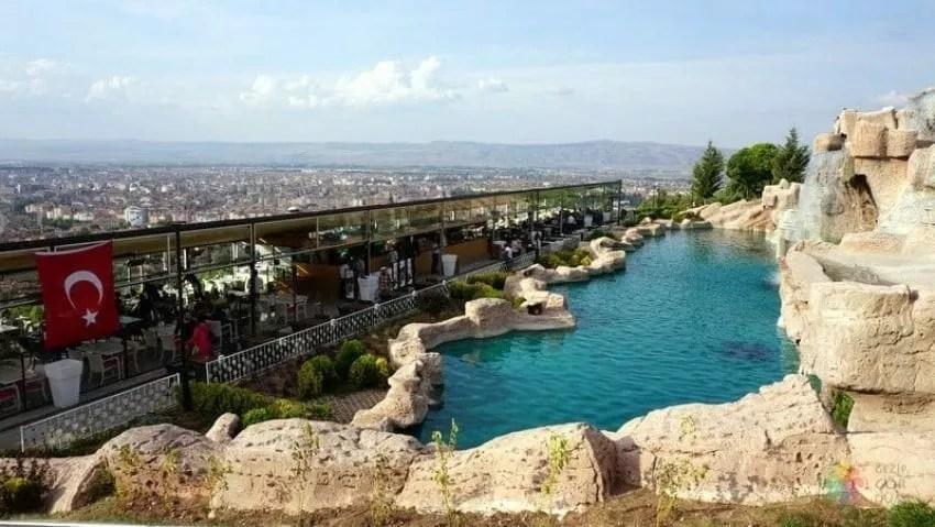 حديقة الشلال تركيا  السياحة في اسكي شهير