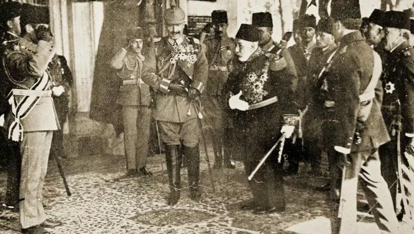السلطان محمد الخامس العثماني