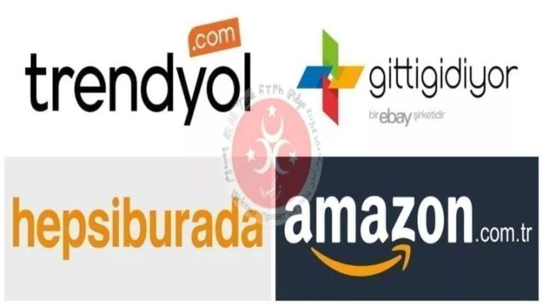 Türkiye online alışveriş siteleri