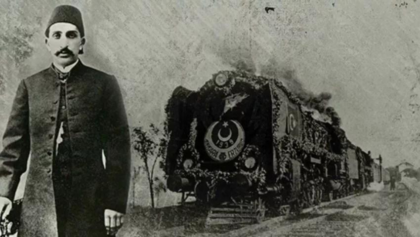 خط سكة حديد الحجاز السلطان عبد الحميد الثاني