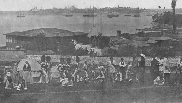 Guerre de Crimée entre la Russie et l'Empire ottoman