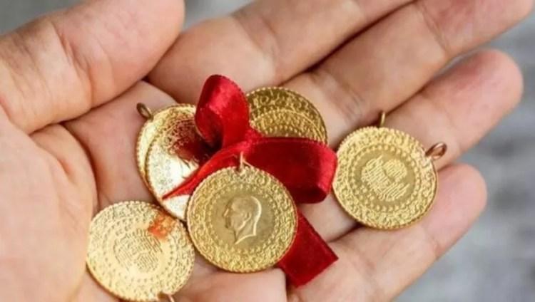 Lira turca in oro quarto
