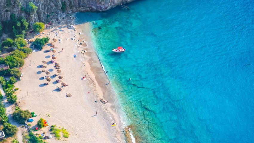 شاطئ العلم الأزرق موغلا