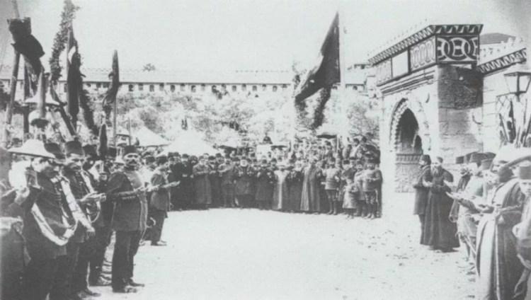 Mosquée Al-Aqsa à l'époque ottomane