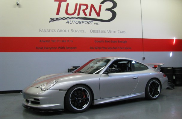 Track Machine: Silver 996 GT3 - Turn3Autosport