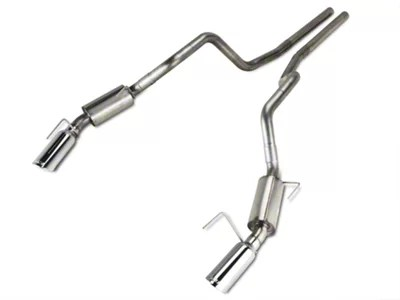 borla s type cat back exhaust with polished tips 05 09 gt