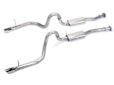 borla cat back exhaust with polished tips 94 95 gt cobra