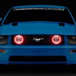 Rgb Multi Color Led Halo Ring Fog Light Kit For Ford Mustang Gt 05 09
