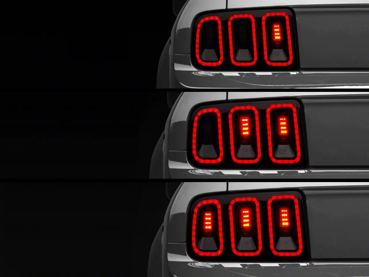 Raxiom Mustang Gen5 Tail Lights 49169 (0509 All)
