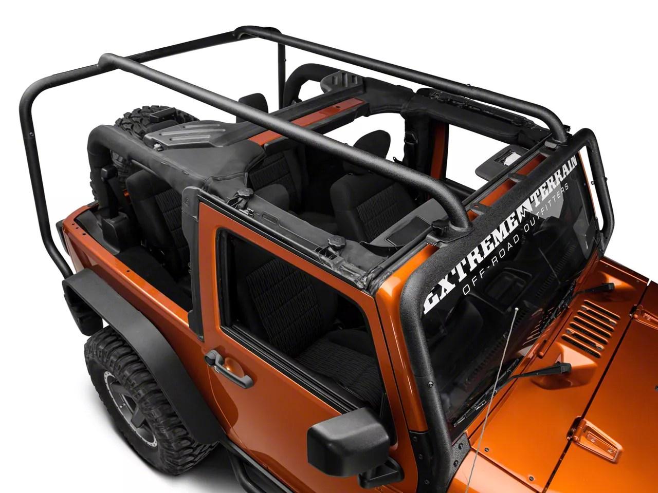 rugged ridge sherpa roof rack 07 18 jeep wrangler jk 2 door