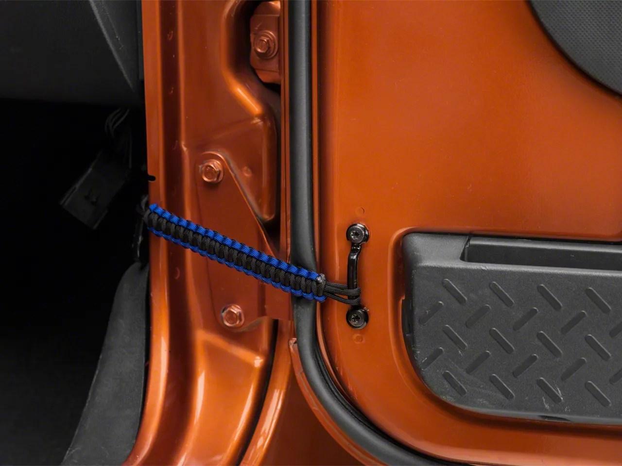 RedRock 4x4 Jeep Wrangler Front Paracord Door Limit Straps
