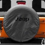 Mopar Jeep Wrangler Jeep Logo Spare Tire Cover Black Denim 30 To 31 Inch Tire Cover 82209949ab 07 21 Jeep Wrangler Jk Jl