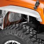 Poison Spyder Jeep Wrangler Standard Width Crusher Fender Flares Bare Aluminum J108557 07 18 Jeep Wrangler Jk