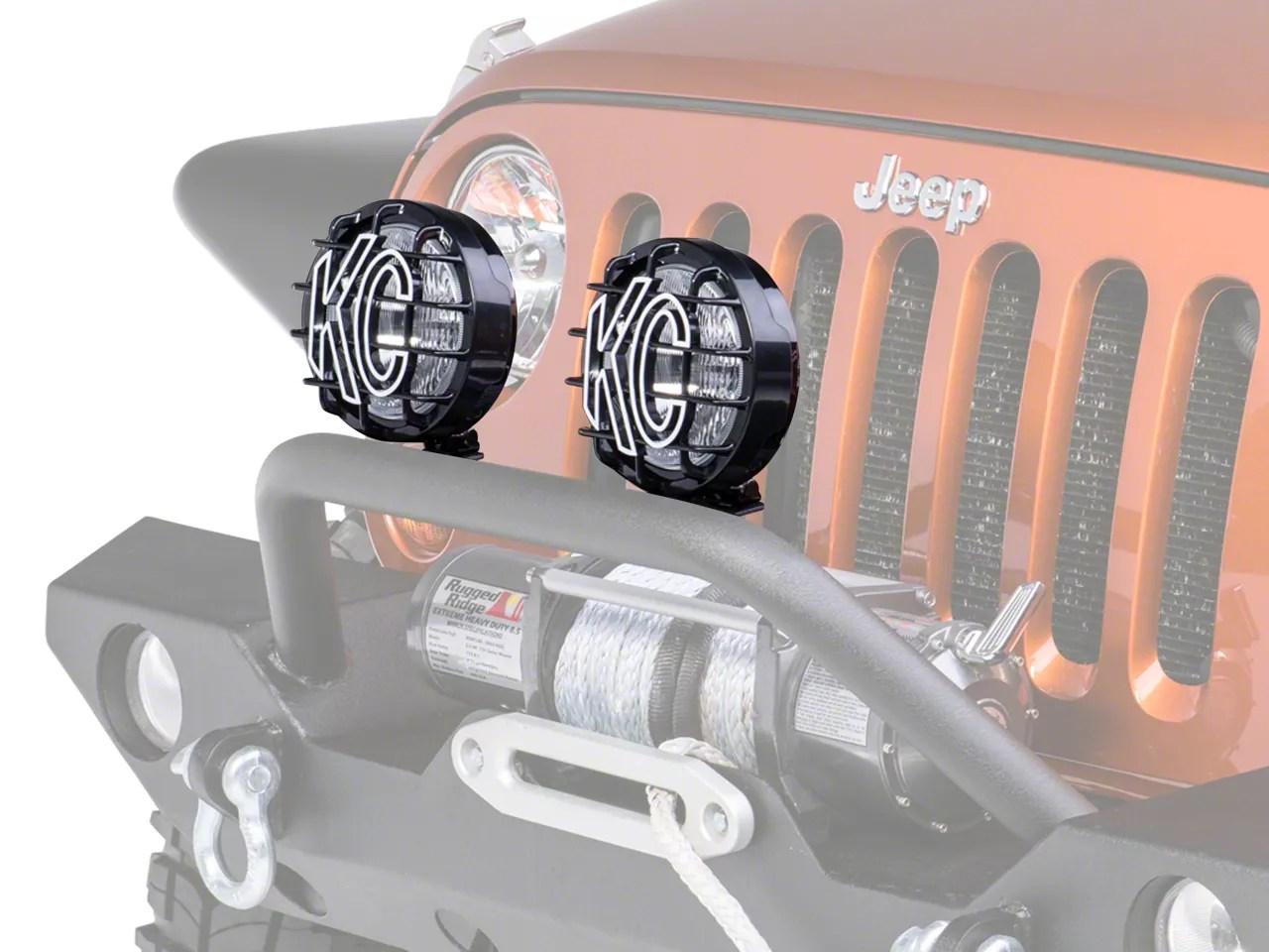 Kc Hilites 124 Jeep Wrangler