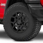 Black Rhino Jeep Gladiator Overland Matte Black Wheel 17x8 1780vrl305127m71 20 21 Jeep Gladiator Jt