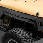 Smittybilt Jeep Wrangler Gen 2 Xrc Front Fender Flares 76883 07 18 Jeep Wrangler Jk