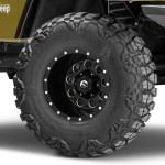 Fuel Wheels Jeep Wrangler Revolver Matte Black Milled Wheel 15x10 D52515000437 97 06 Jeep Wrangler Tj