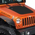 Sec10 Jeep Wrangler Hood Decal Matte Black J26014 07 18 Jeep Wrangler Jk
