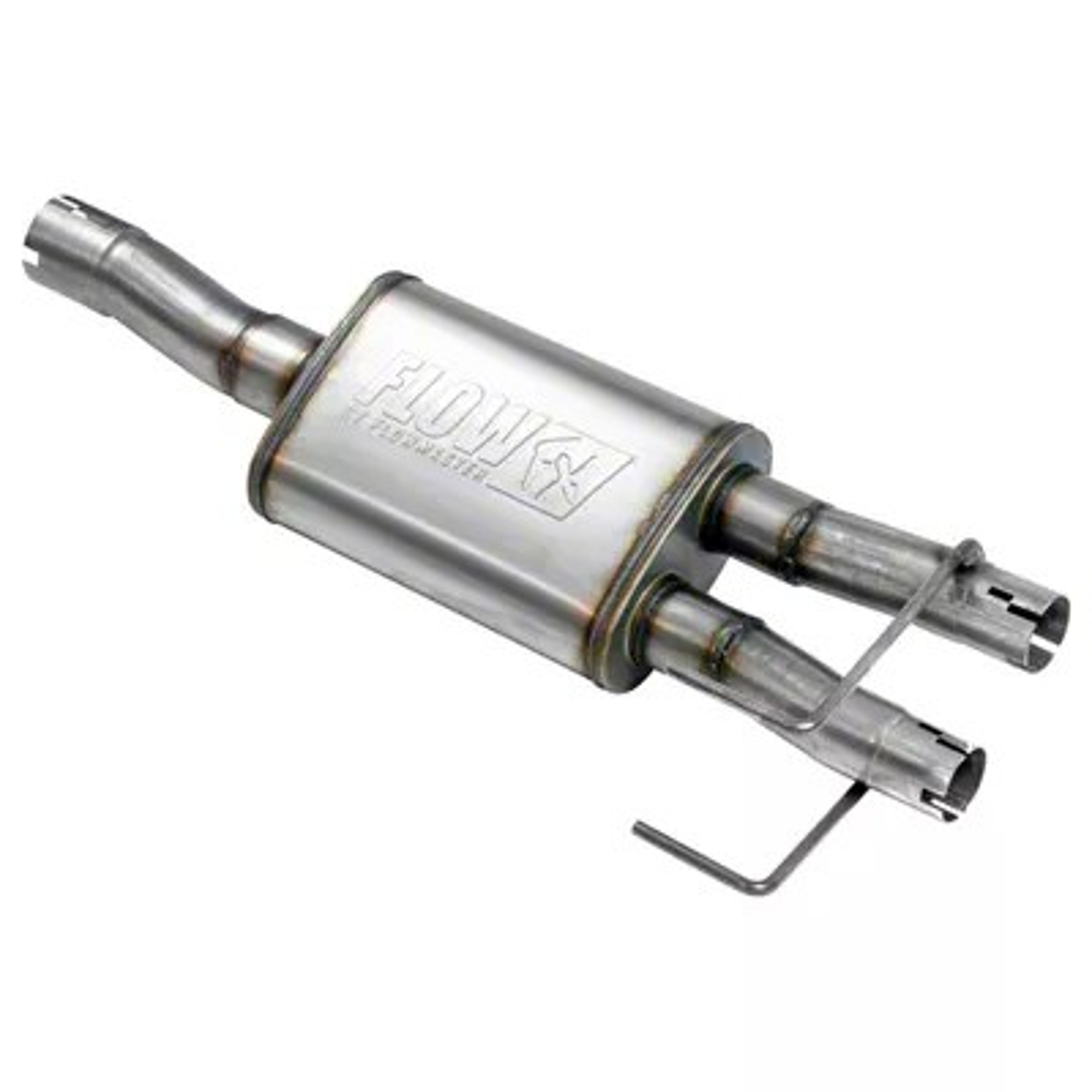 flowmaster flowfx direct fit muffler 09 18 5 7l ram 1500 w factory dual exhaust