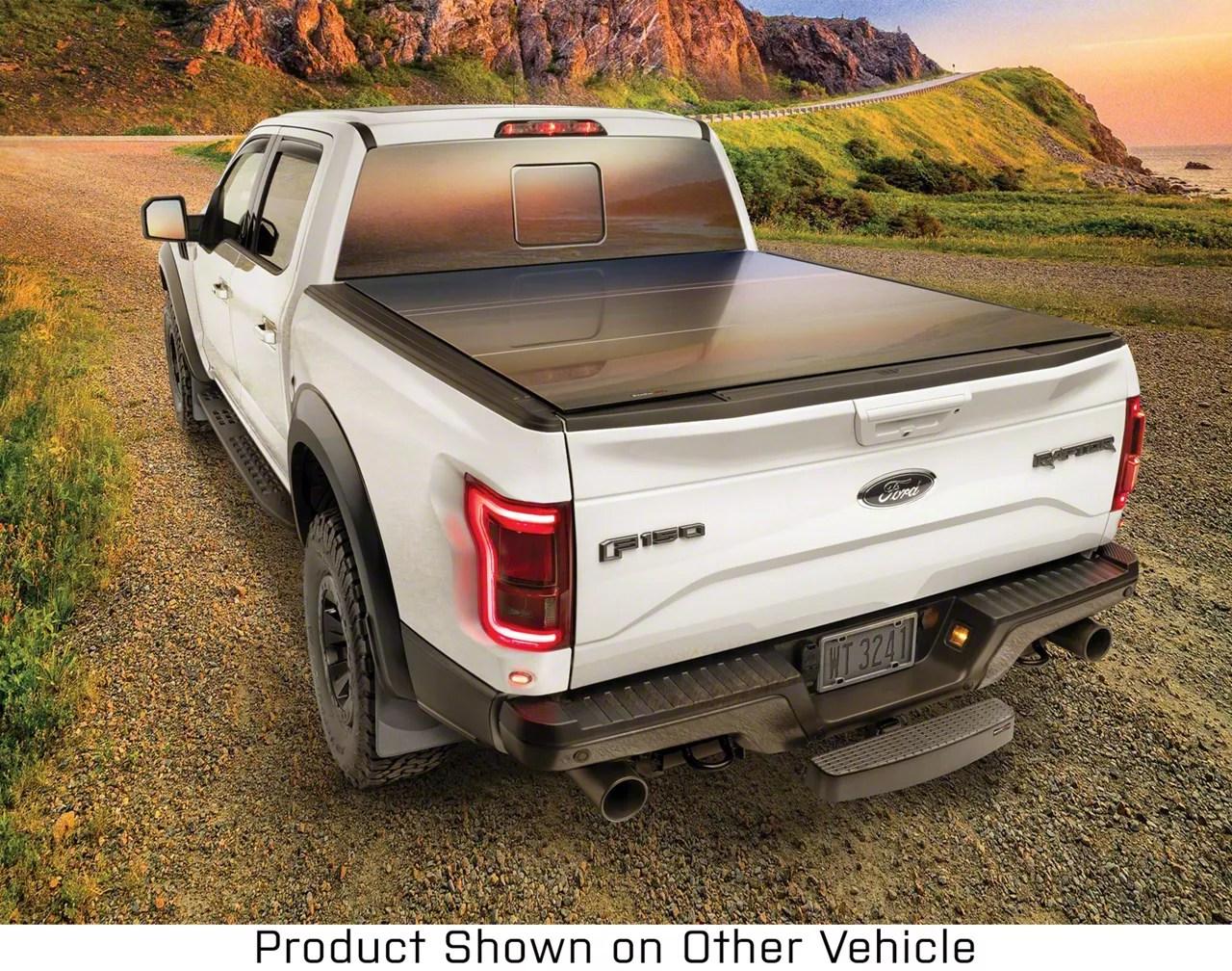 weathertech alloycover hard tri fold tonneau cover 20 21 jeep gladiator jt