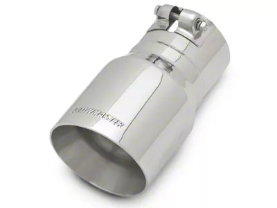 flowmaster 4 inch polished angle cut exhaust tip 3 inch connection universal fitment