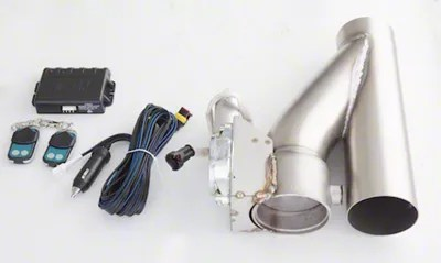 xforce electronic exhaust cutout kit 4 inch universal fitment