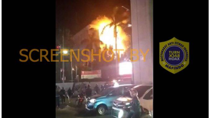 [SALAH] Gedung KPK Terbakar - TurnBackHoax