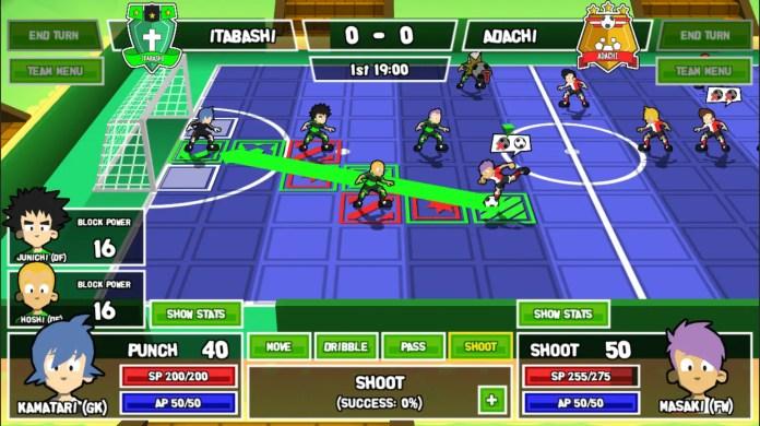 Ganbare: Super Striker Gameplay