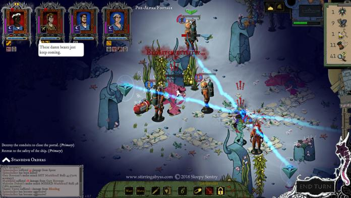 Stirring Abyss turn-based game