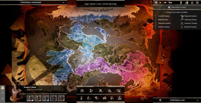 Forged of Blood review map