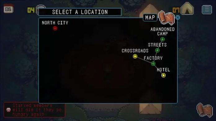 Wanna Survive Map