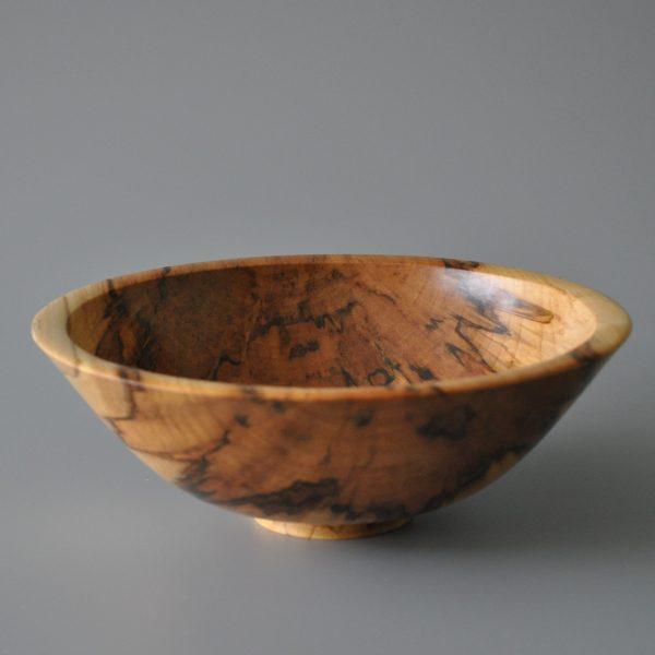 wooden vase in spalted beech