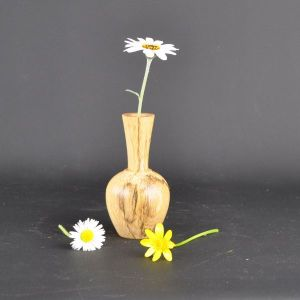 spalted beech vase