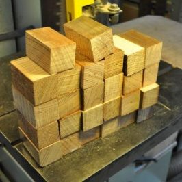 pine blocks for wooden mice
