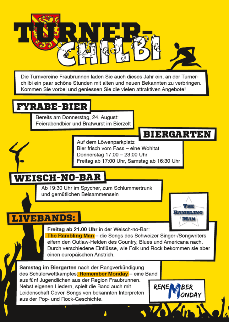 Flyer Turner-Chilbi 2017