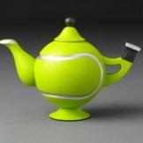 Jay Heryet tennis ball teapot